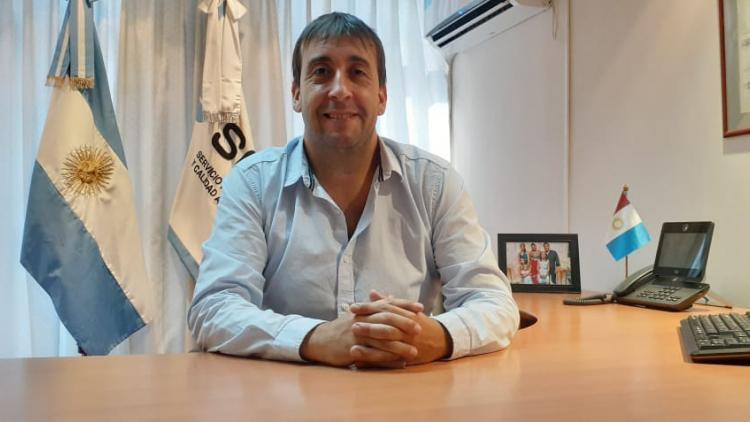SENASA Córdoba vuelve a ser centro Regional. El nuevo director, Gustavo Zabaletta, celebró esta noticia